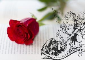 San Jorge y los libros