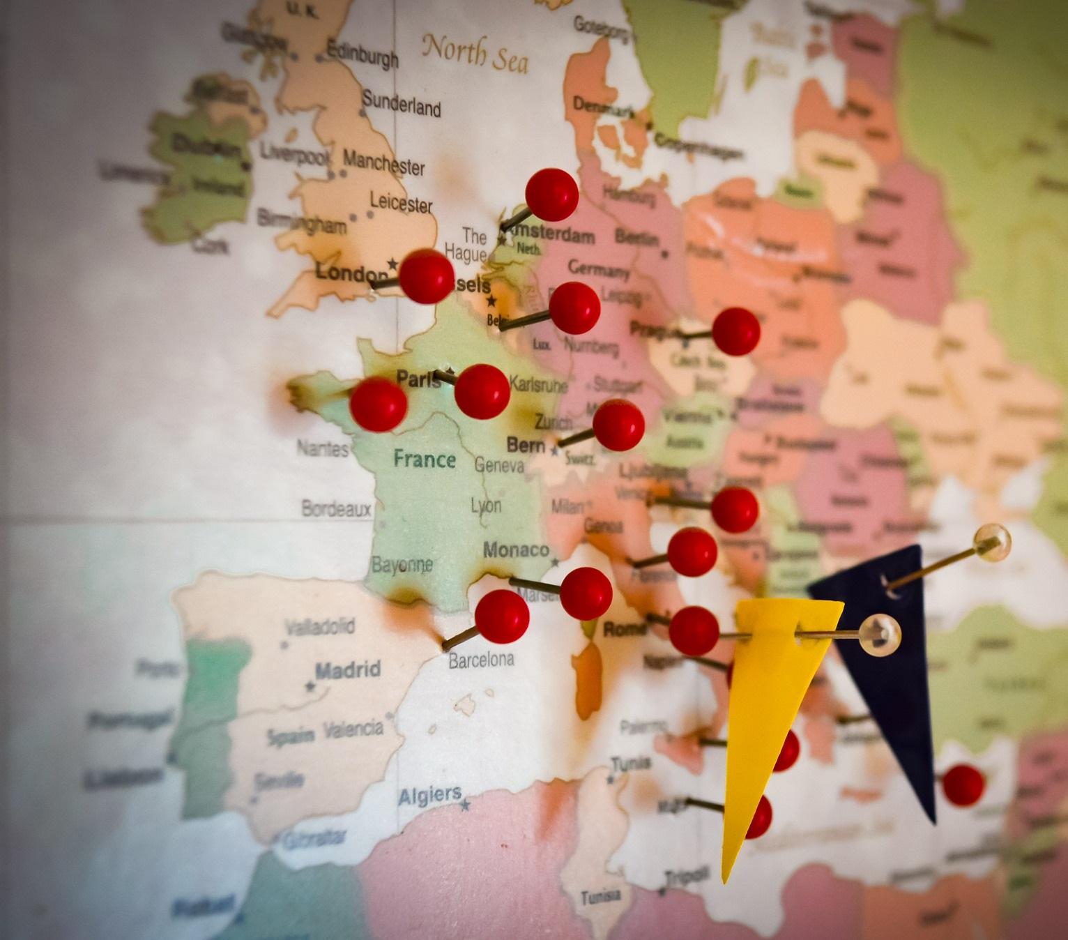 El crecimiento de la exportación del textil español